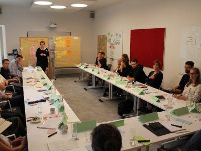 Fachdiskussion Brandenburger Bio-Kartoffel im Schulcatering 27.8.2018