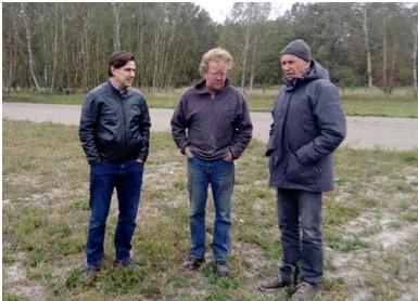 Zweite Runde – Betriebsbesuche Bio-Kartoffelberater 2.10.2018
